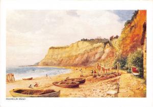 Isle of Wight Postcard Art, Shanklin Head by W.W Quatremain P92