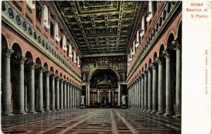 CPA ROMA Basilica di S. Paolo. ITALY (552521)