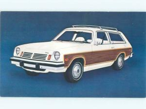 1975 Postcard Ad CHEVROLET VEGA STATION WAGON CAR AC6167-19