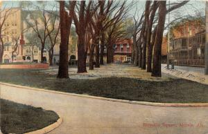 F15/ Mobile Alabama Postcard c1910 Bienville Square 6