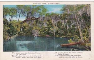 Florida Scene Along The Suwannee River