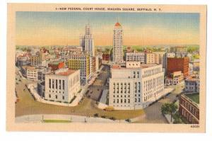 Buffalo NY Federal Court House Niagara Square Linen