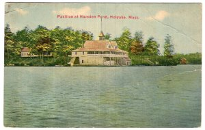 Holyoke, Mass, Pavilion at Hamden Pond