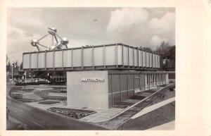 Weltausstellung Burssel Belgium Expo 58 Autriche Real Photo Postcard JD228117