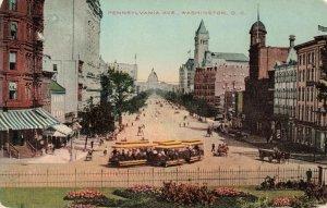 Postcard Pennsylvania Avenue Washington DC
