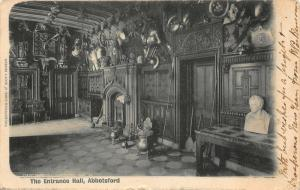 Abbotsford The Entrance Hall Postcard