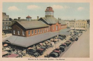 ST. HYACINTHE , Quebec , Canada , 1930s ; The Market