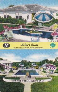 Florida St Augustine Vilano Beach Haleys Court Swimming Pool