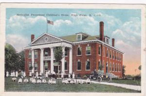 Methodist´s Protestant Children´s Home, High Point, North Carolina, PU-1923