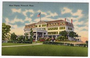Plymouth, Mass, Hotel Pilgrim