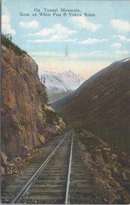On Tunnel Mountain, Scene on the White Pass & Yukon Route - 1947