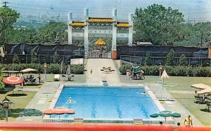 Taipei Taiwan China Swimming Pool, Grand Hotel Taipei Taiwan Swimming Pool, G...