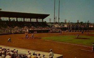 Vintage Postcard Russell Field Major League Baseball Clearwater Florida   452
