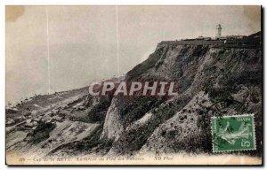 Old Postcard Le Havre Cape of La Greve heve the Cliffs of Foot
