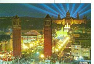 Postal 6470 : Montjuich, Palacio Nacional, Barcelona