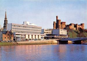 Postcard 1980's The Waterfront, Inverness, Highlands, Scotland #535