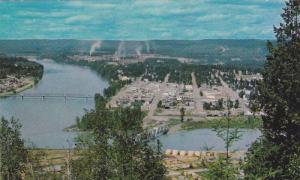 Overlooking the Scenic town of Quesnel,  B.C.,  Canada,  40-60s