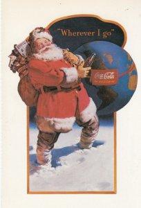Coca Cola Santa Claus , Christmas , 1991