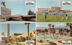 Indio-Fresno-Bakersfield CA~Hacienda Motels~Golfing @ Las Vegas NV Hacienda~1954