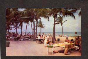 FL Crandon Haulover Beach Park near Miami Florida Postcard