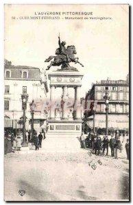 Old Postcard CLERMONT-FERRAND - Monument of Vercingetorix