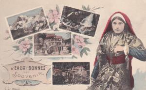 FRANCE, 1900-1910's; D'eaux Bonnes, 5-Views