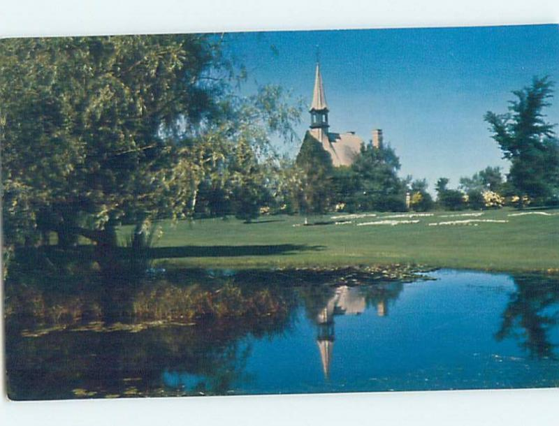 Unused Pre-1980 CHURCH SCENE Grand Pre - Near Dartmouth Nova Scotia NS G3225