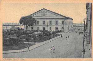 Bahia Brazil Alfandega Federal Exterior View Antique Postcard J69857