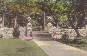 Virginia Harrisonburg Bond Memorial Gate And Approach To Massanetta Springs H...
