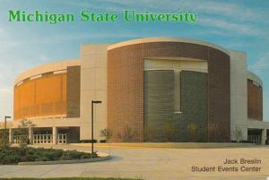 Michigan Lansing Jack Breslin Student Events Center Michigan State University...
