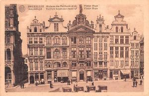 Bruxelles Belgium, Belgique, Belgie, Belgien Maison des Tailleurs et de Victo...