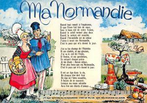France Ma Normandie de Frederic Berat Poete et Compositeur