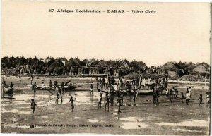 CPA AK Senegal Fortier 307. Afrique Occidentale-Dakar-Village Cérére (235225)