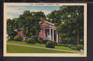 Rotherwood,Kingsport,TN Postcard
