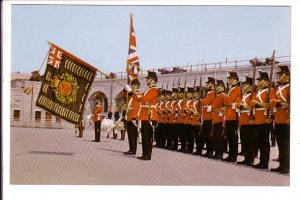 Soldiers with Guns and Flags, Old Fort Henry, Kingston, Ontario