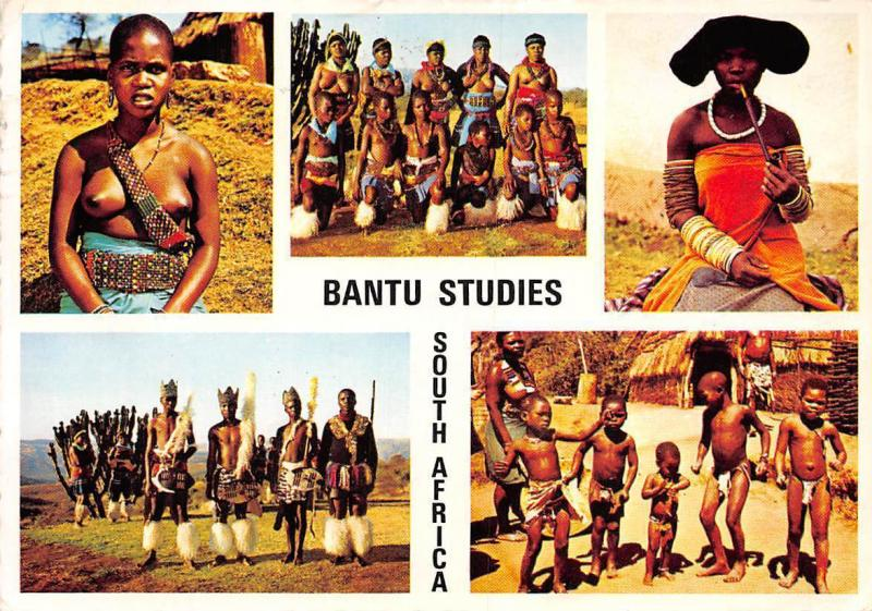 South Africa Bantu from Various Tribes Native People