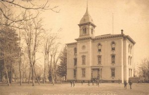 OAKDALE SCHOOL Chico, CA Butte County c1910s Albertype Vintage Postcard