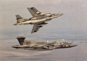 Postcard Hawker Siddeley Buccaneer S-2A After The Battle Series P80