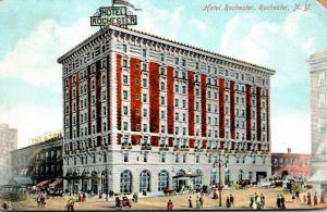 New York Rochester Hotel Rochester 1909