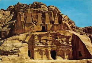 Jordan Petra Obilisk's Tomb postcard