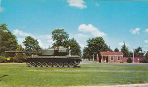 Entrance, War Machine, Armor Center, Fort Knox, Kentucky, 1940-1960s