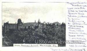 State Normal School Mansfield PA 1905