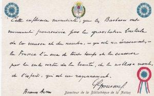 Carte Postale d'Actualite , Souvenir de Guerre - Buenos Ayres