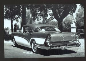 REAL PHOTO 1957 BUICK SPECIAL CAR DEALER ADVERTISING POSTCARD '57