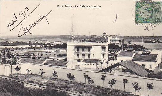 Tunisia Baie Ponty La Defense mobile 1913