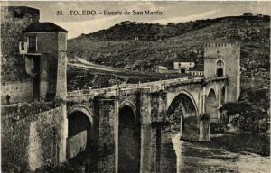 CPA Toledo Puente de San Martin SPAIN (743838)