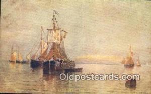 Sail Boat Postcard Post Card