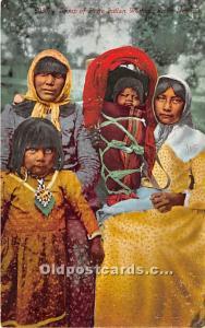 Group of Piute Indian Women Reno, Nevada, NV, USA Unused