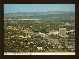 Universal City/Burbank, California/CA Postcard, Aerial View, Near Mint!