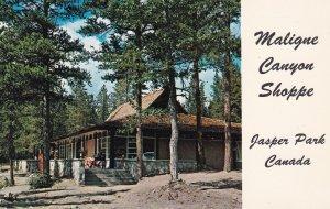 JASPER, Alberta, Canada, 1940-1960s; Maligne Canyon Shoppe, Jasper Park